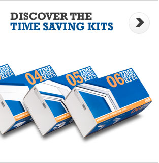 Discover the Time Saving Kits