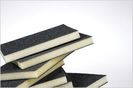 Foam tampon abrasif
