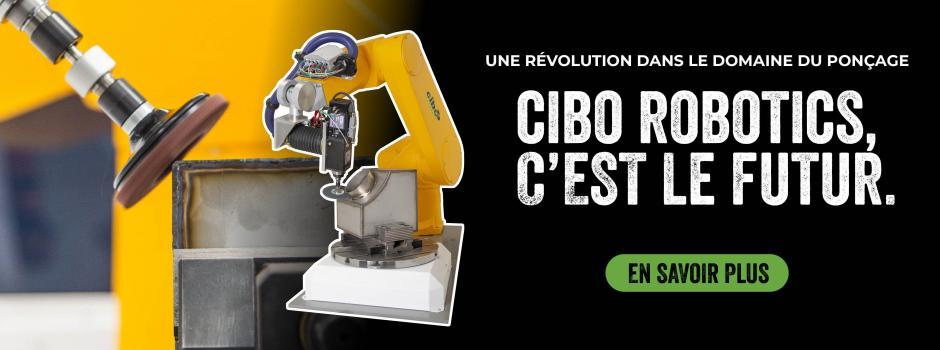 Cibo Robotics, c'est le futur.