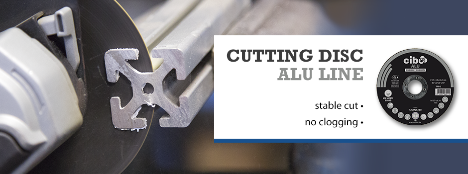 Cutting Disc ALU Line