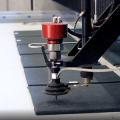 Cibo gebruikt waterstraalsnijtechnologie voor unitized materialen