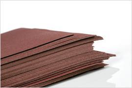 schuurvellen - abrasive sheets