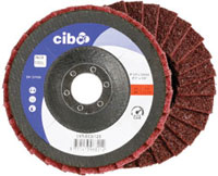 LVT - finishing flap disc