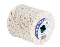 Finimaster roues de polissage en coton