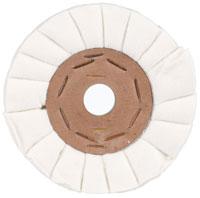 Geventileerd flanellen polijstwiel met binnenkern